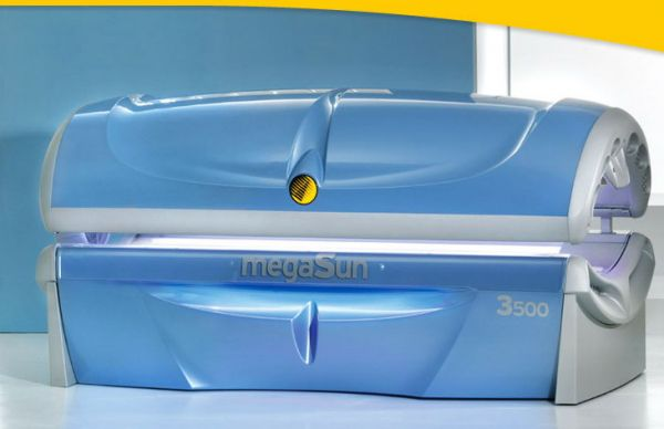 Солярий горизонтальный megSun 3500 Super