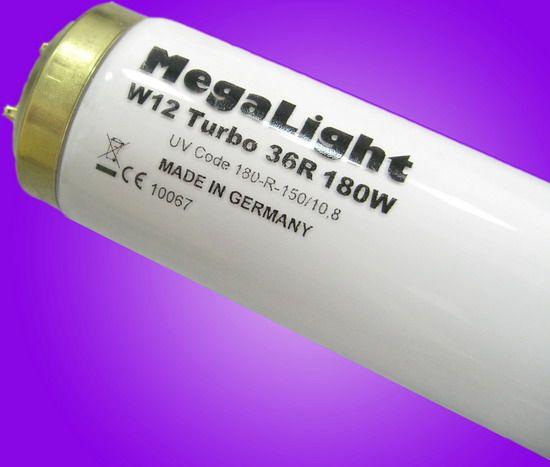 MegaLight W12 180W (3.6 UVA/UVB) by Cosmedico