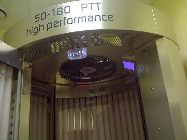 Вертикальный солярий Qmed High Performance