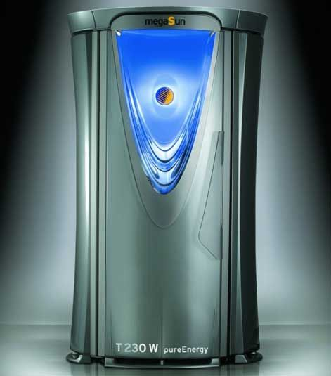 Вертикальный cолярий megaSun Tower pureEnergy T200