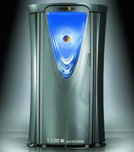 Вертикальный cолярий megaSun Tower pureEnergy T200