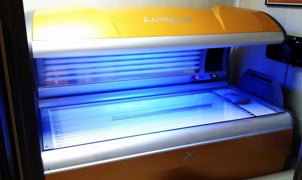 Горизонтальный солярий Hapro Luxura X5