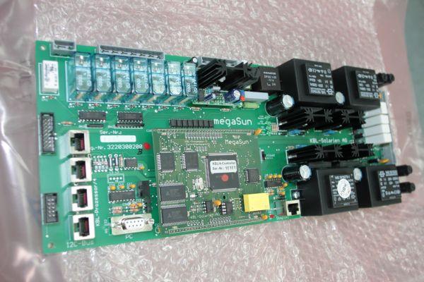 Плата управления для солярия megaSun T230 / T200 с процессором № детали 3220300200