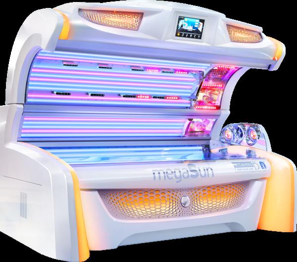 Горизонтальный солярий MegaSun 7000 alpha