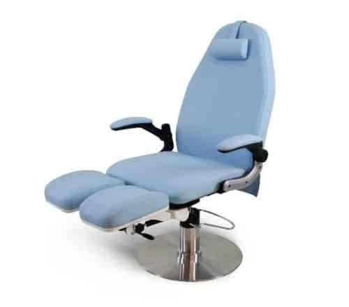 Электрическое кресло для салонов красоты (бежевое)